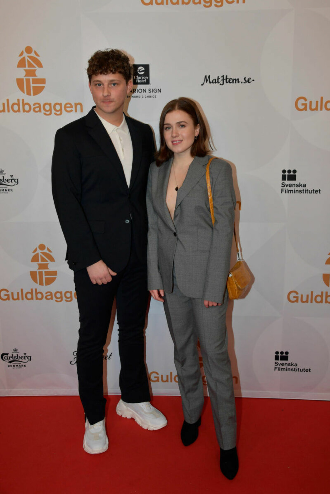 Röda mattan, Charlie Gustafsson med flickvännen Amy Diamond