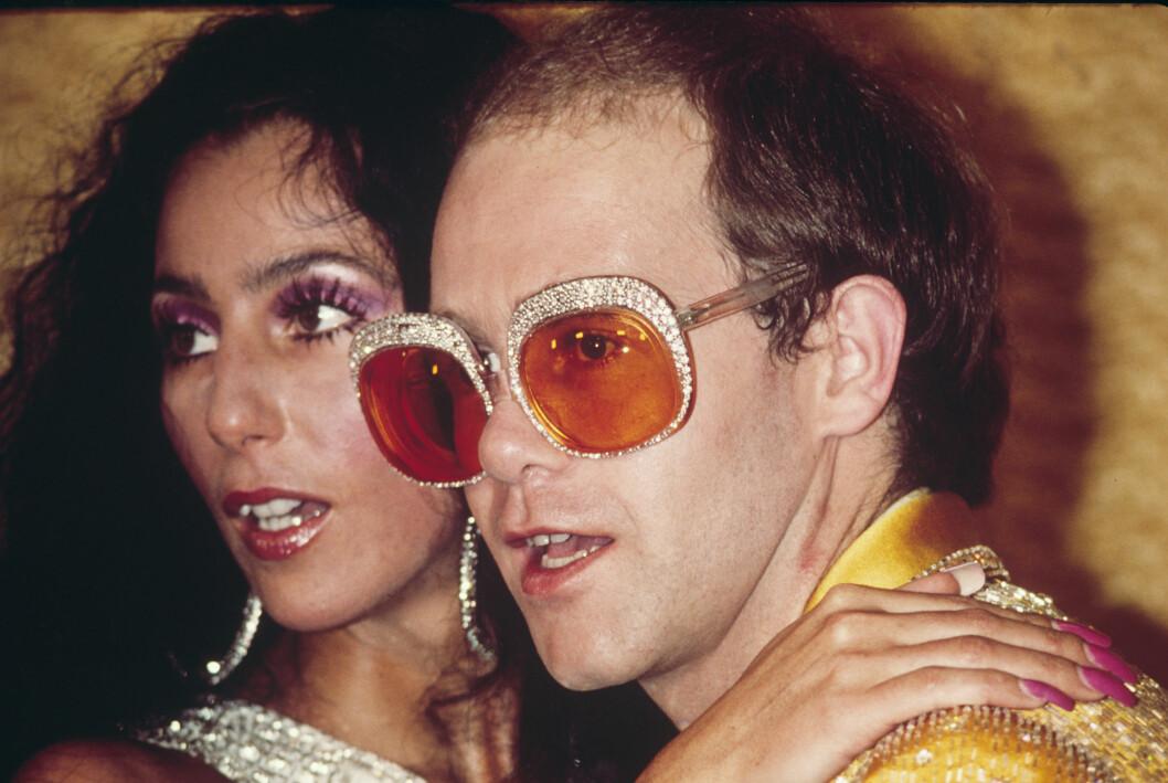 Cher och Elton John
