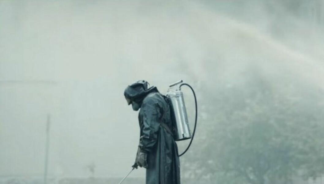 En bild från tv-serien Chernobyl som finns på HBO.