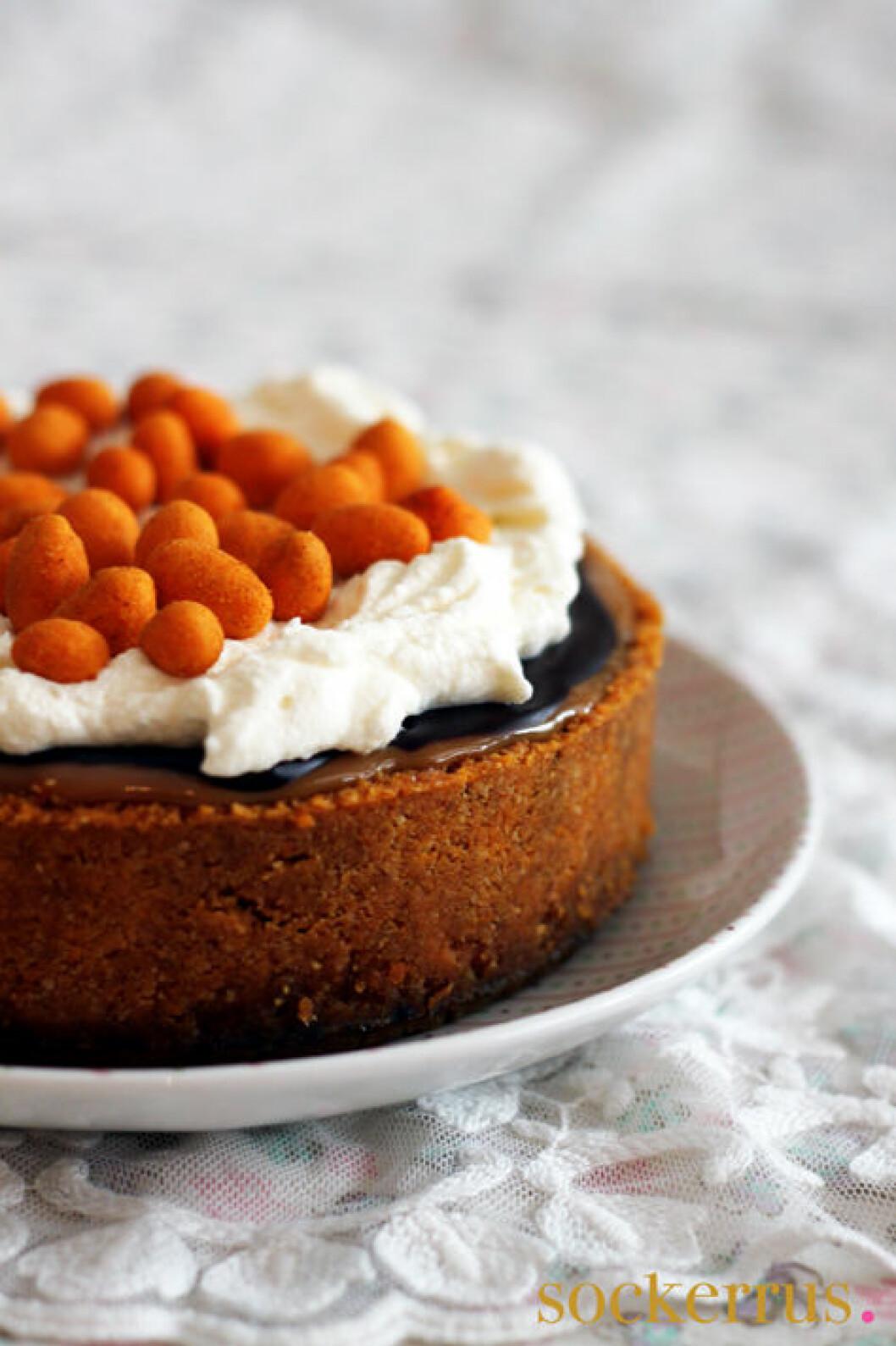 chilinötter cheesecake choklad