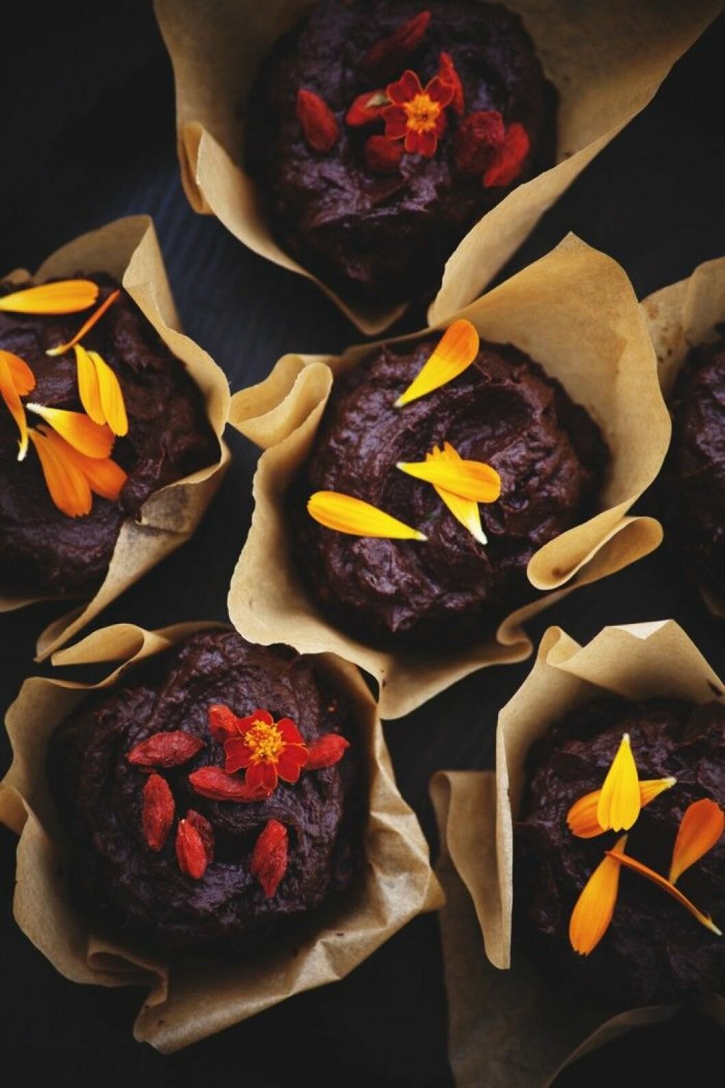 Choklad- och zucchinimuffins + äpple- och havremuffins