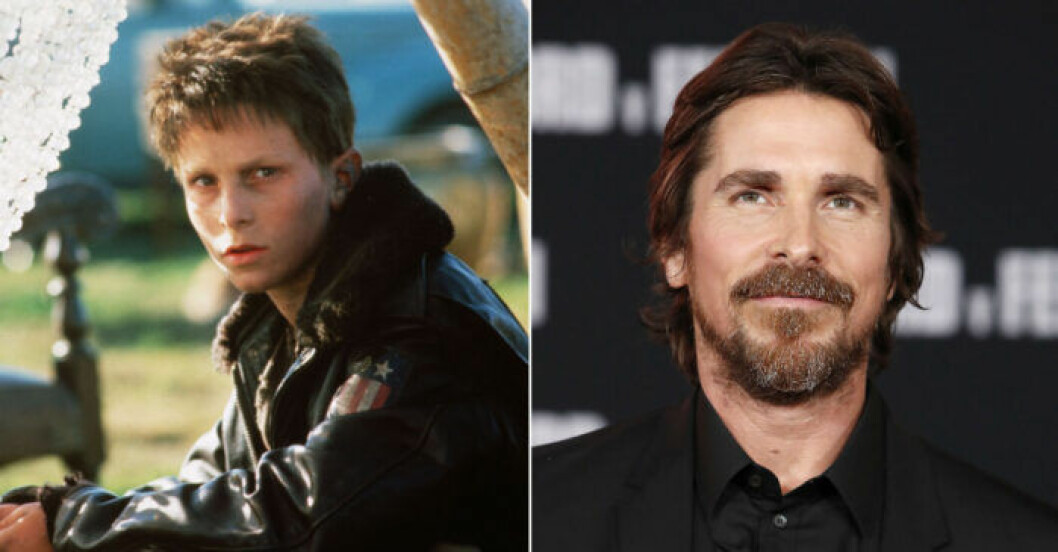 Christian Bale i Empire of the sun som 11-åring.
