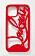 Rött mobilskal med texten Louboutin på. Mobilskal från Christian Louboutin.