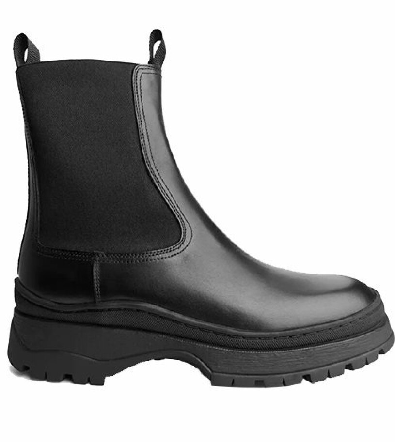 chunky boots arket