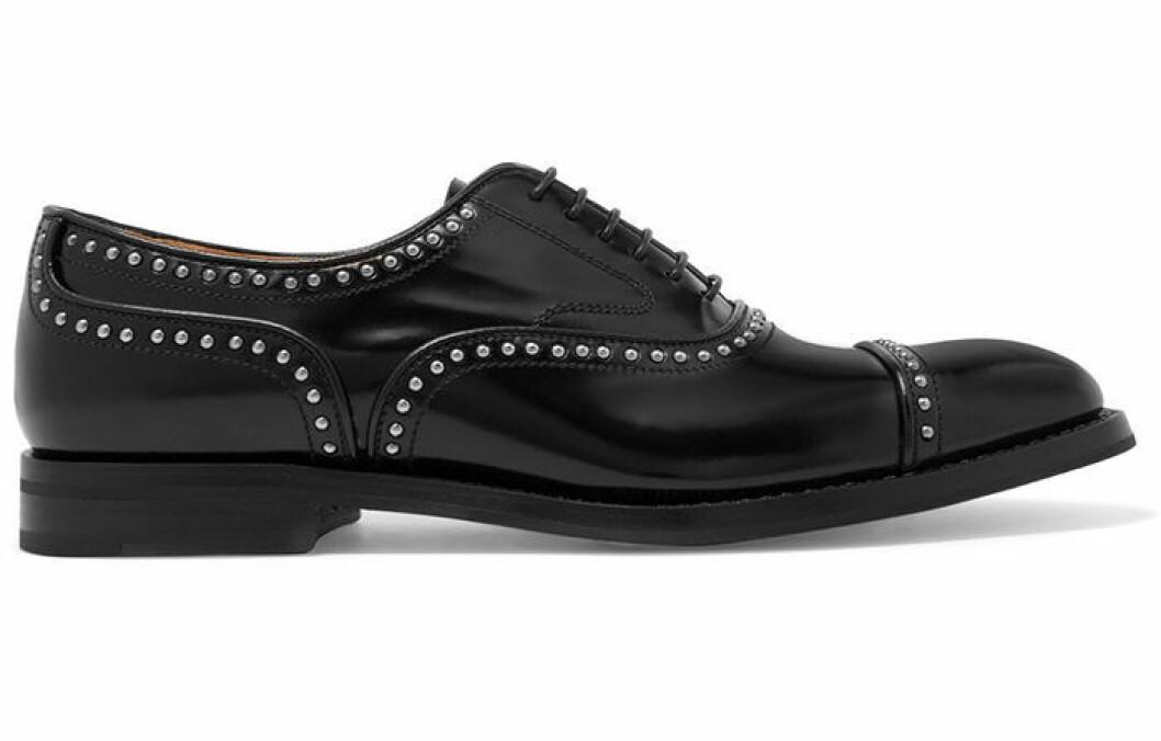 svarta brogues från church