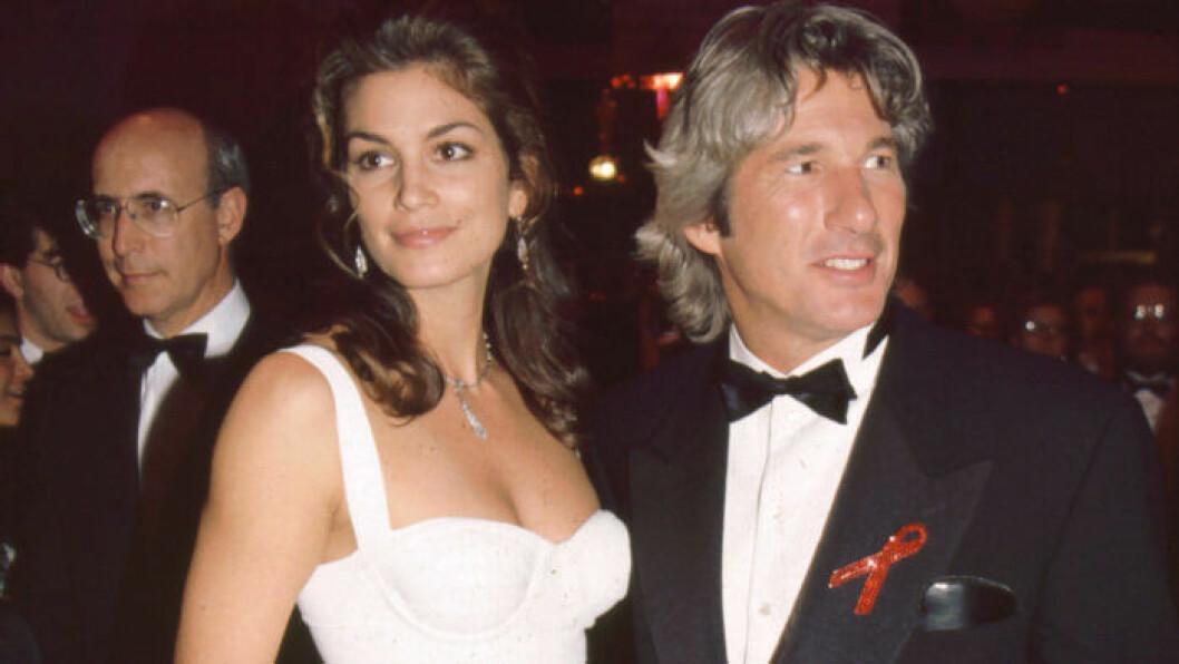 Cindy Crawford och Richard Gere