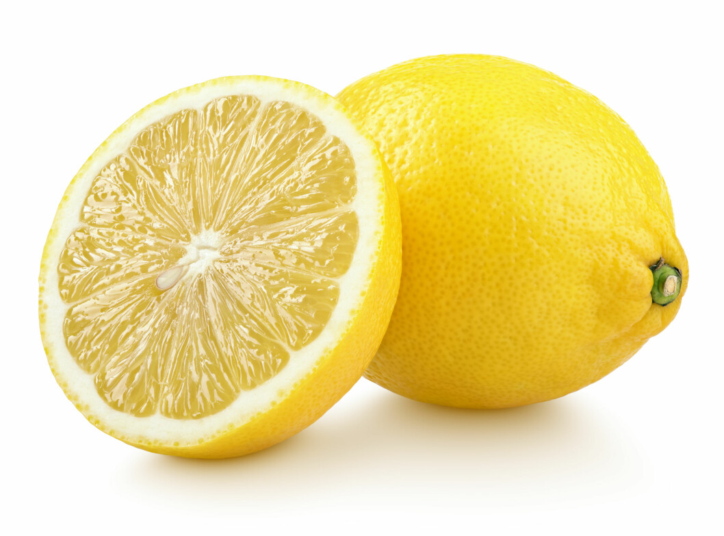 Delad citron