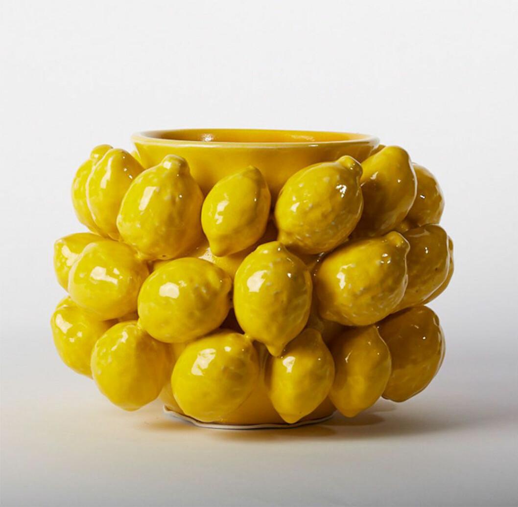 Vas med citroner