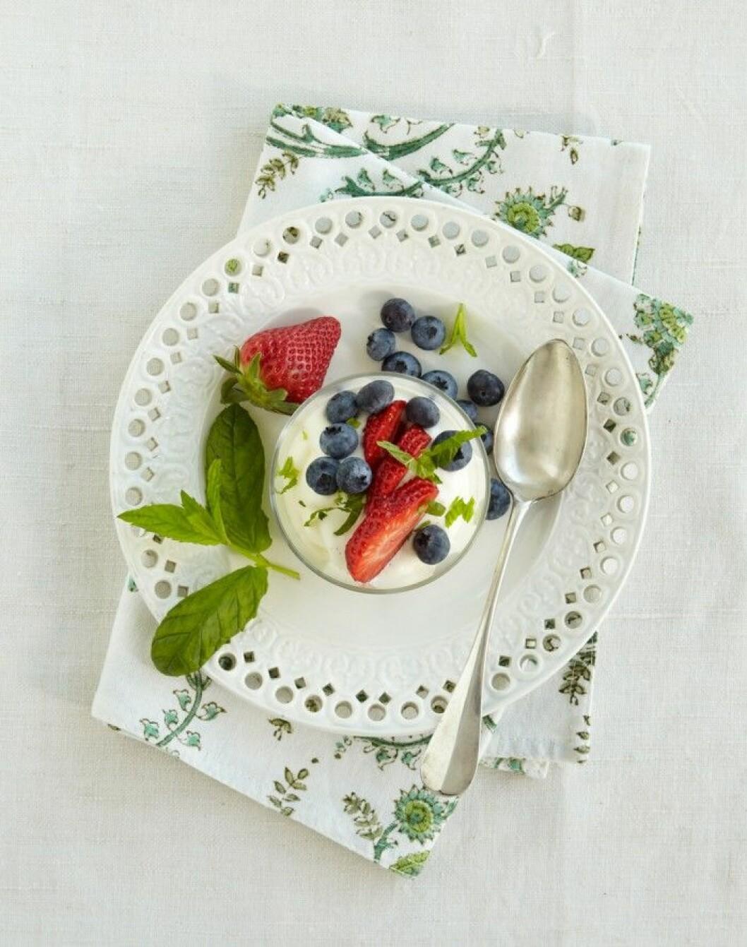 Läcker dessert – Citrusfromage