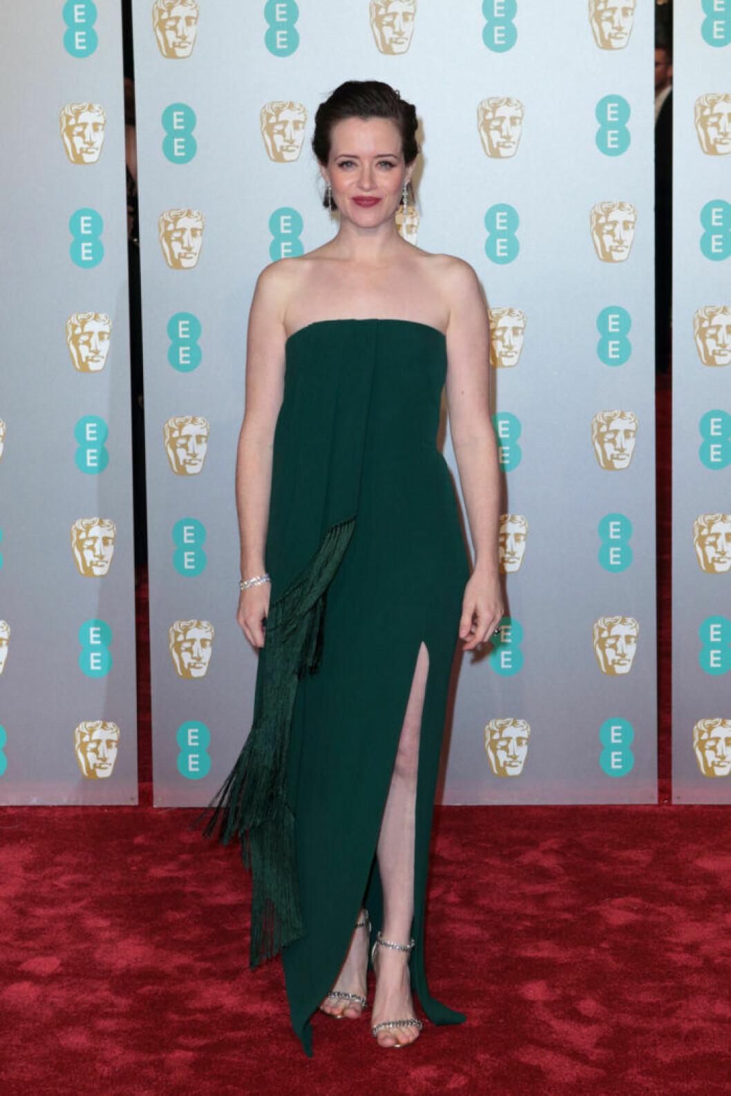 Claire Foy på BAFTA 2019