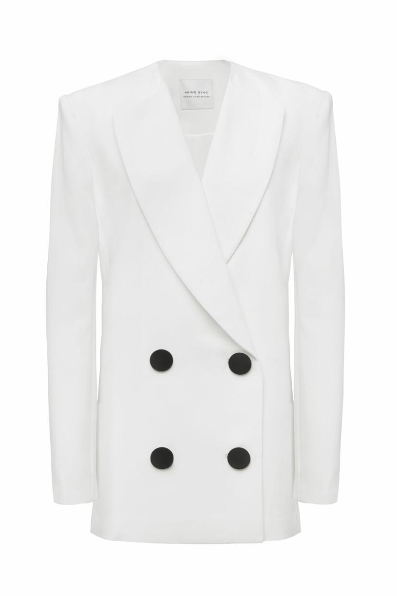 Anine Bing x Helena Christensen blazer