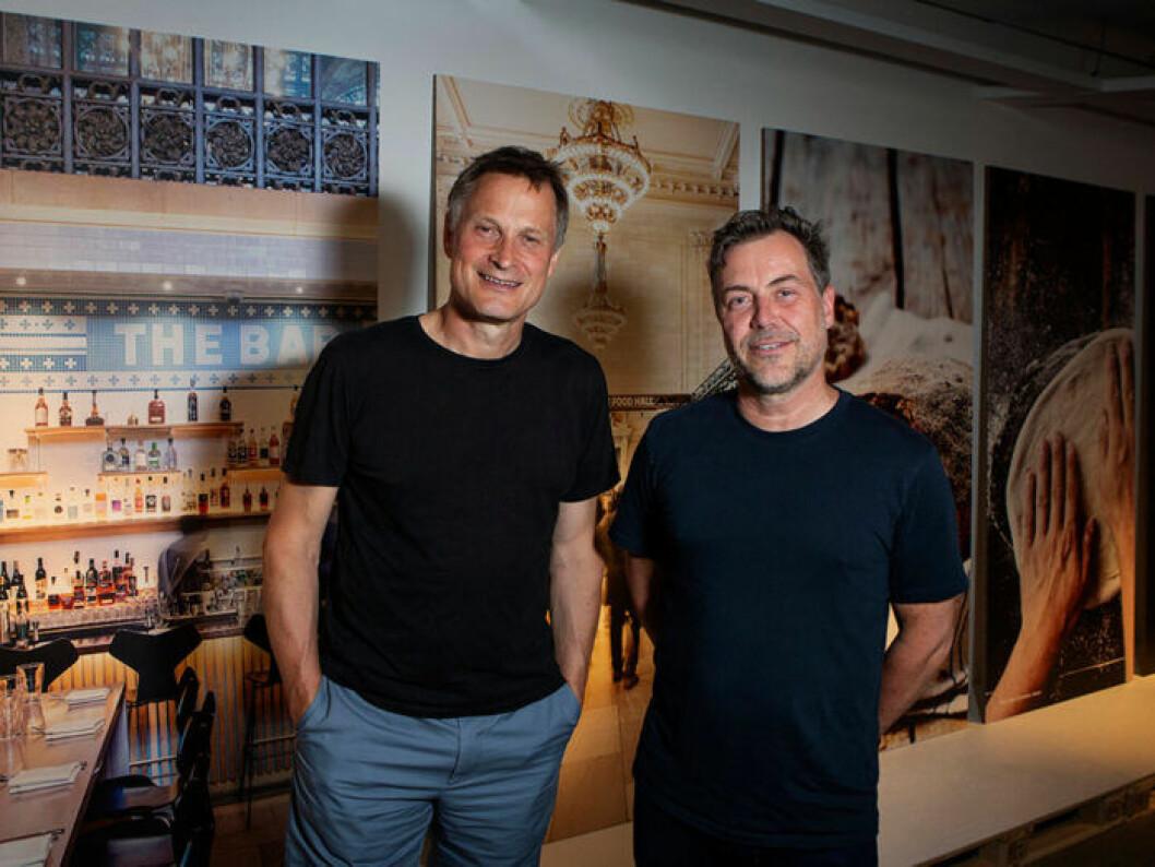 Claus Meyer och Michael La Cour – männen bakom Ikeas nya mat.