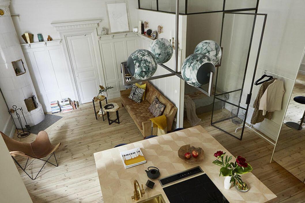 Compact living i en exklusiv etta