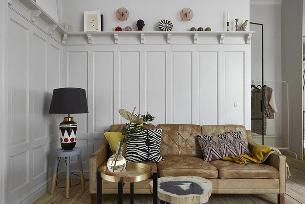 Compact living i vardagsrummet