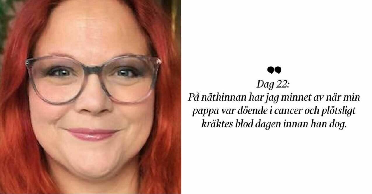 Karin Nygårds drabbades av corona.