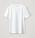 Vit t-shirt med rundad hals. T-shirt från Cos.
