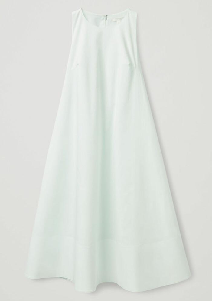 mintgrön klänning från arket