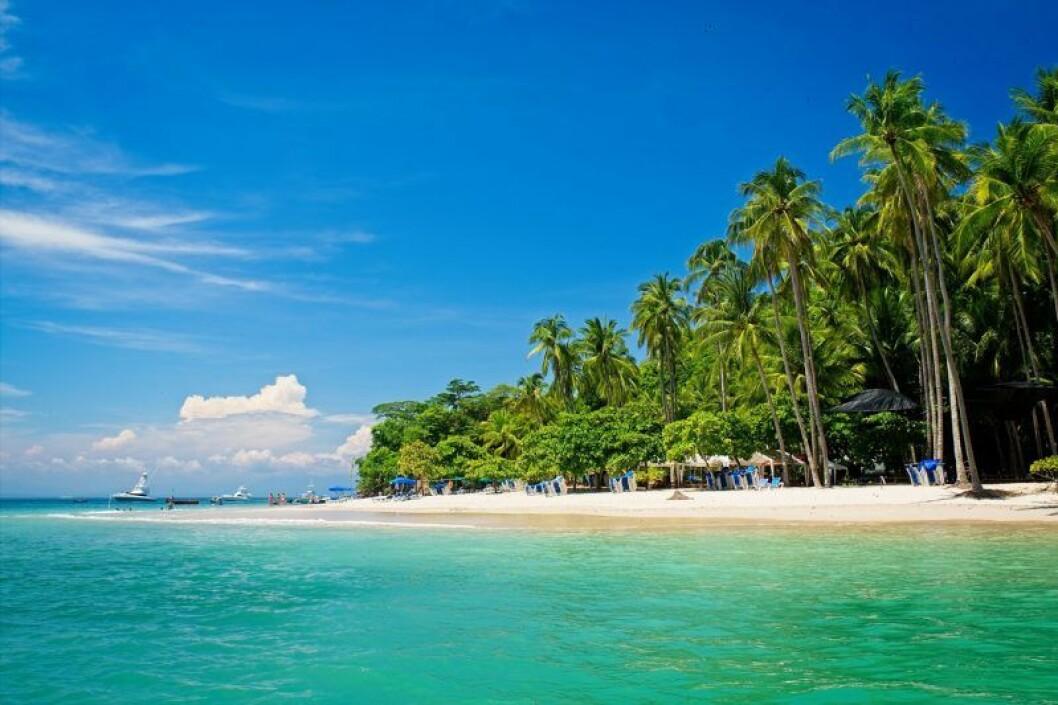 Strand i Costa Rica