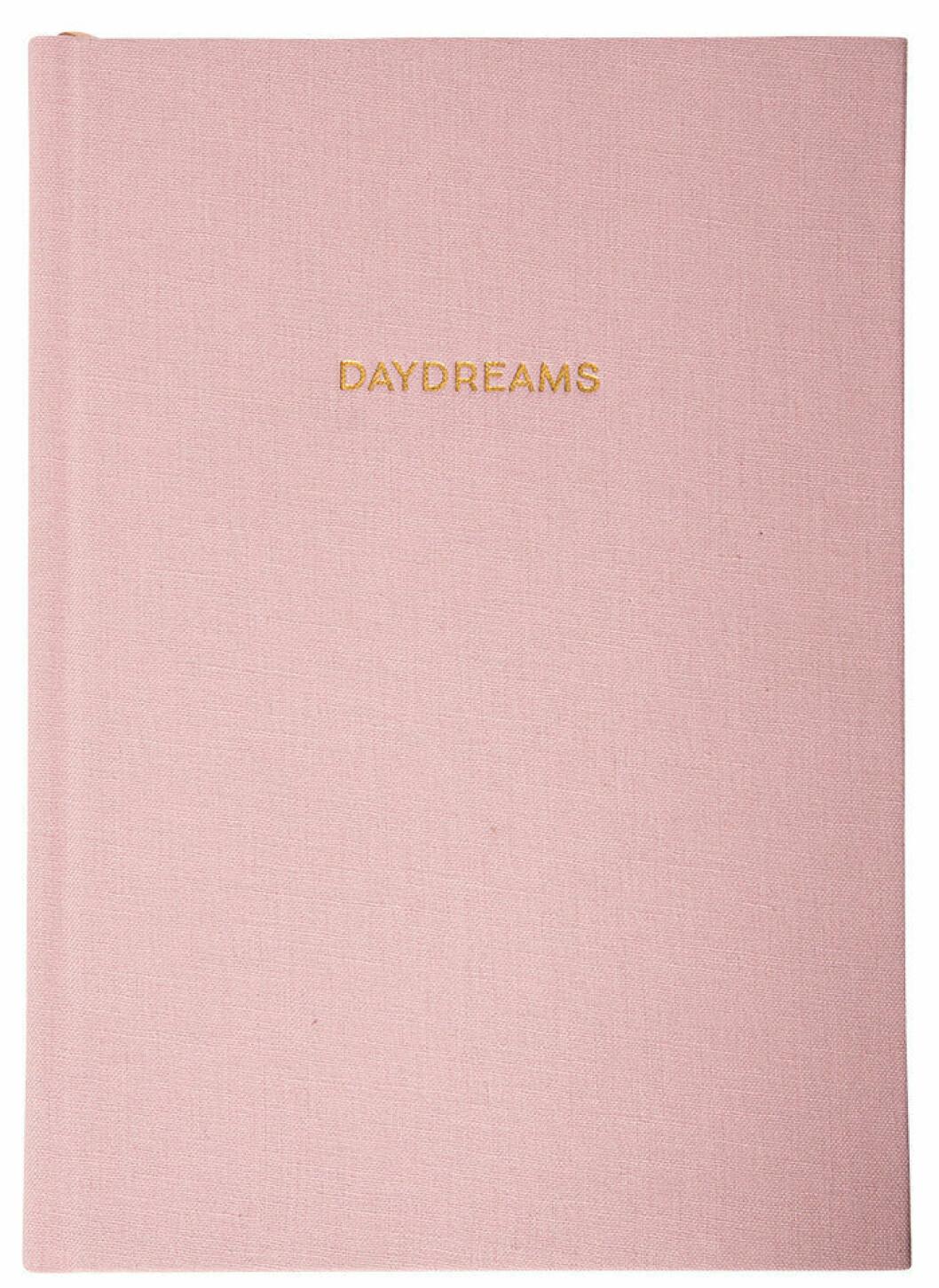 rosa anteckningsbok från Therese Lindgren + Lagerhaus