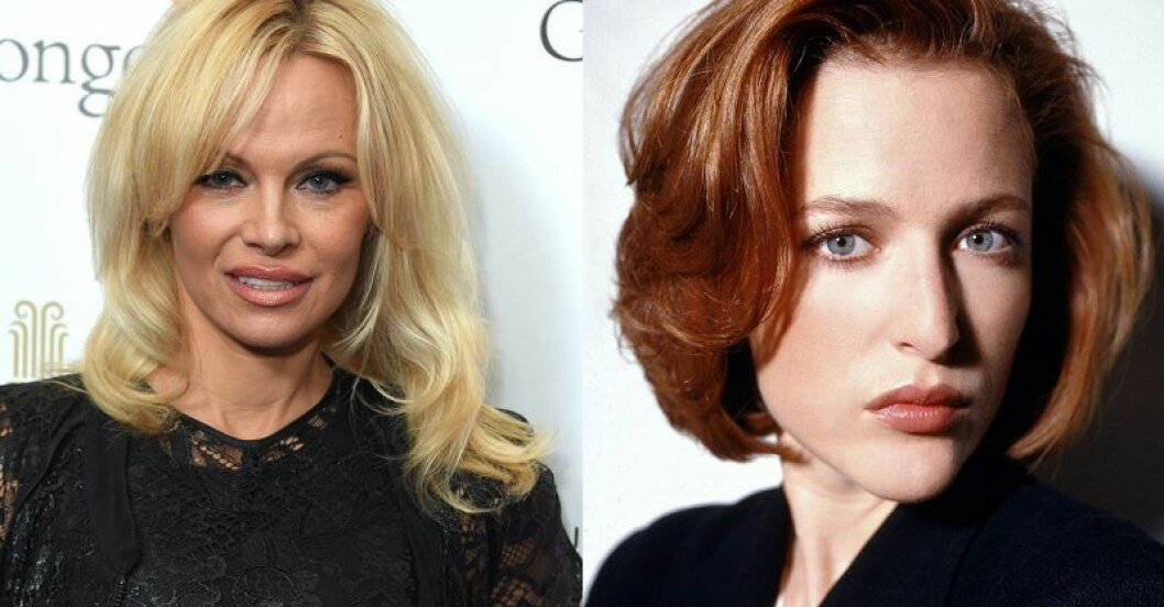 Pamela Anderson – Dana Scully i The X-Files