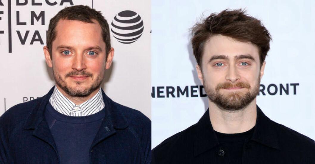 Elijah Wood och Daniel Radcliffe