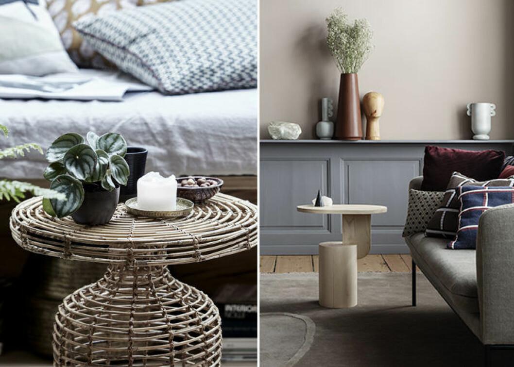 Naturmaterial är trendigt hos danska varumärken i höst