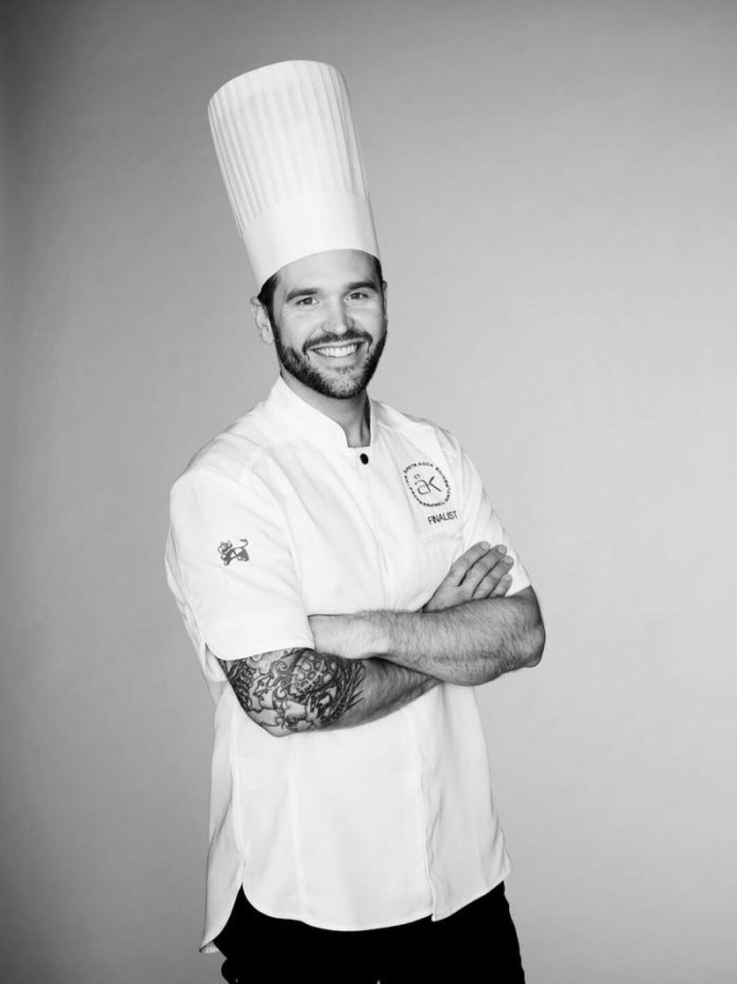 Årets kock 2018 David Lundqvist lagar mat på Strandvägen 1 under Love November.