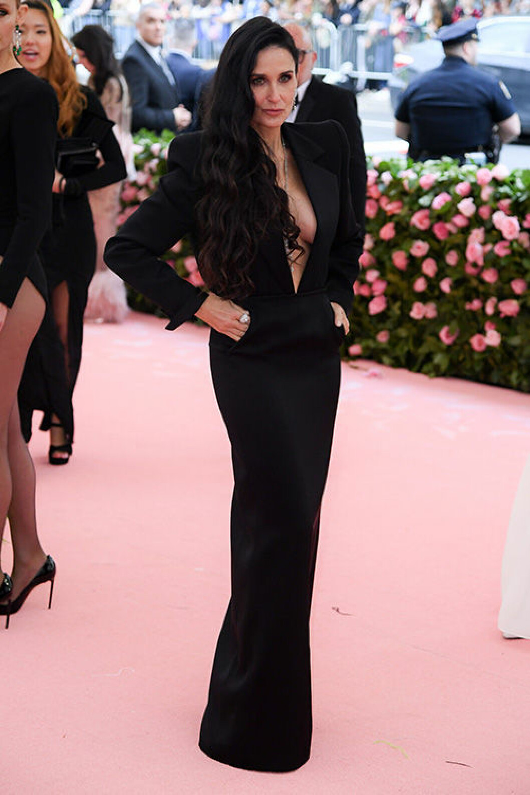 En bild på skådespelerskan Demi Moore under Met-galan 2019.