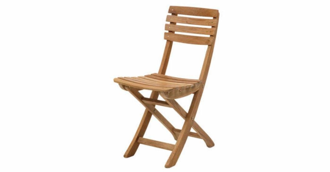Fällbar stol från Skagerak