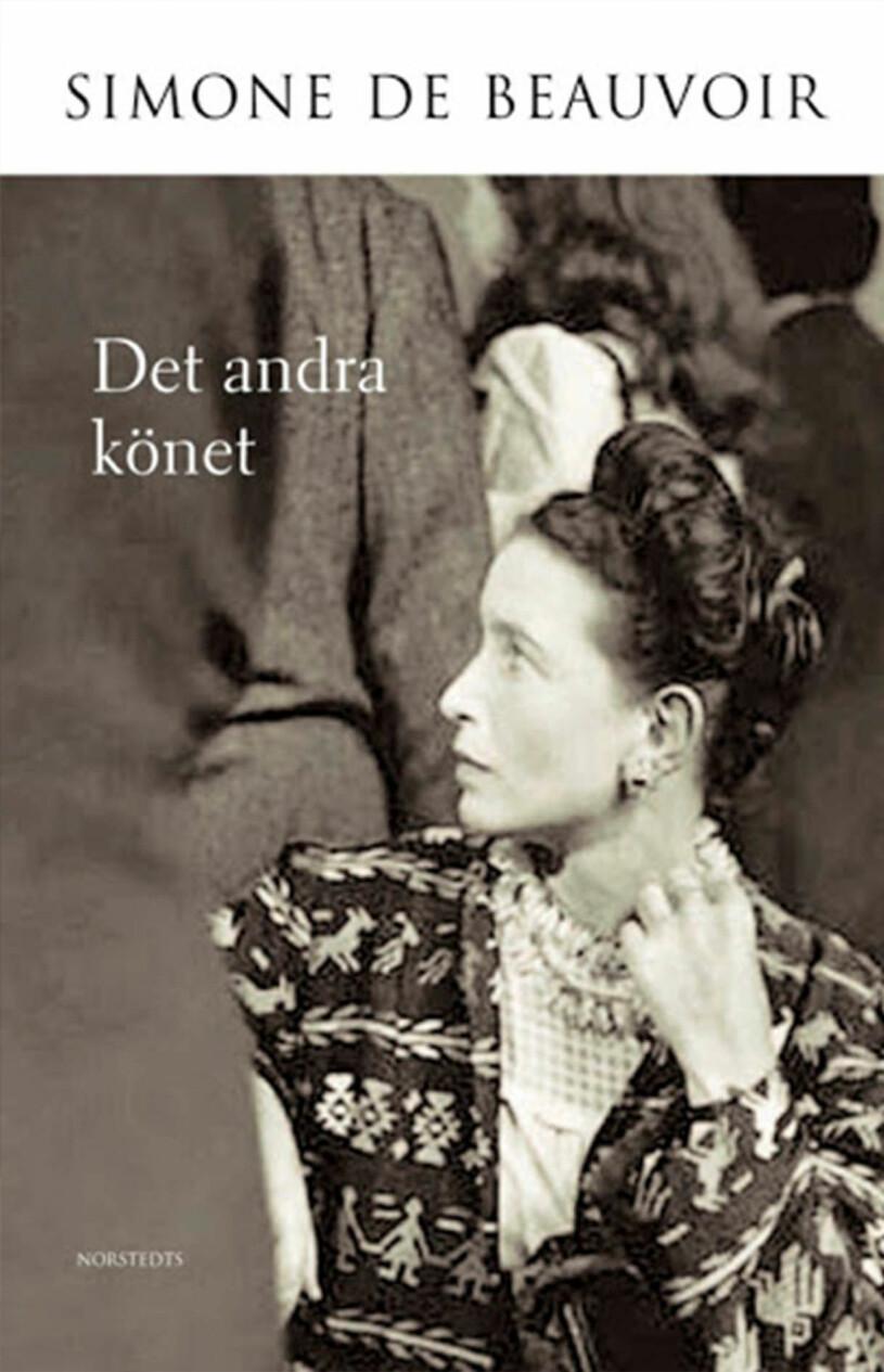 Bokomslag till Det andra könet- Bild på Simone De Beauvoir.