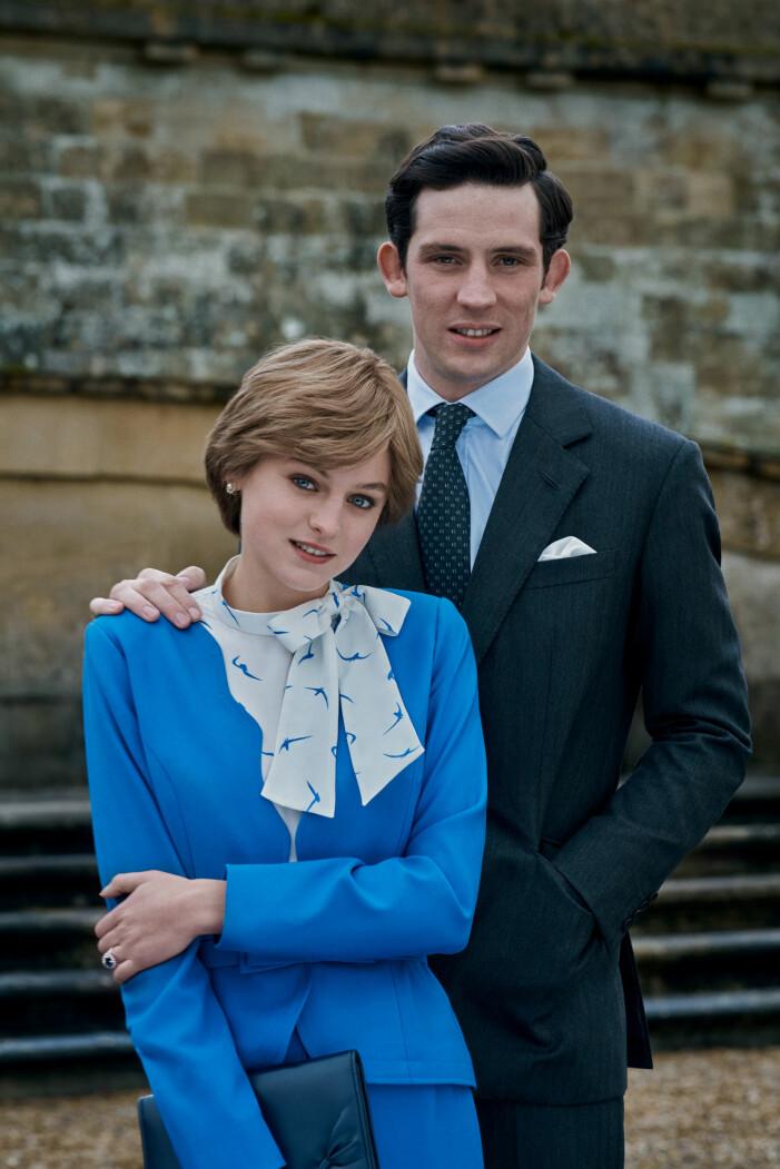 Diana Charles förlovning the Crown