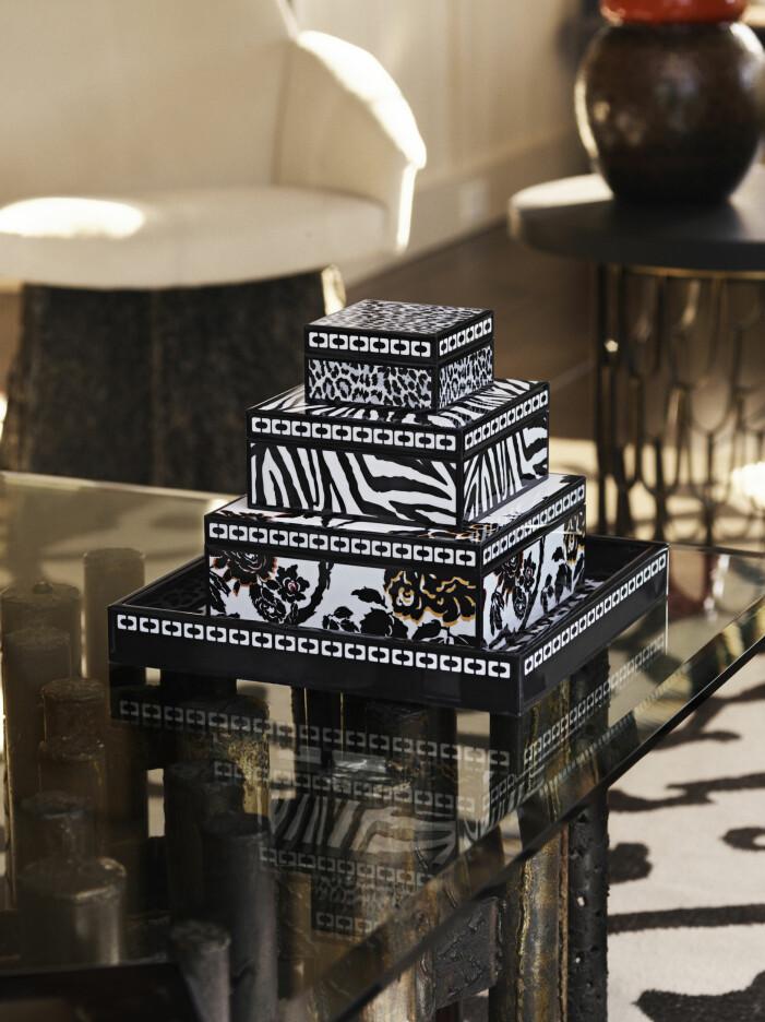 Diane von Furstenberg x H&M Home, förvaringslådor