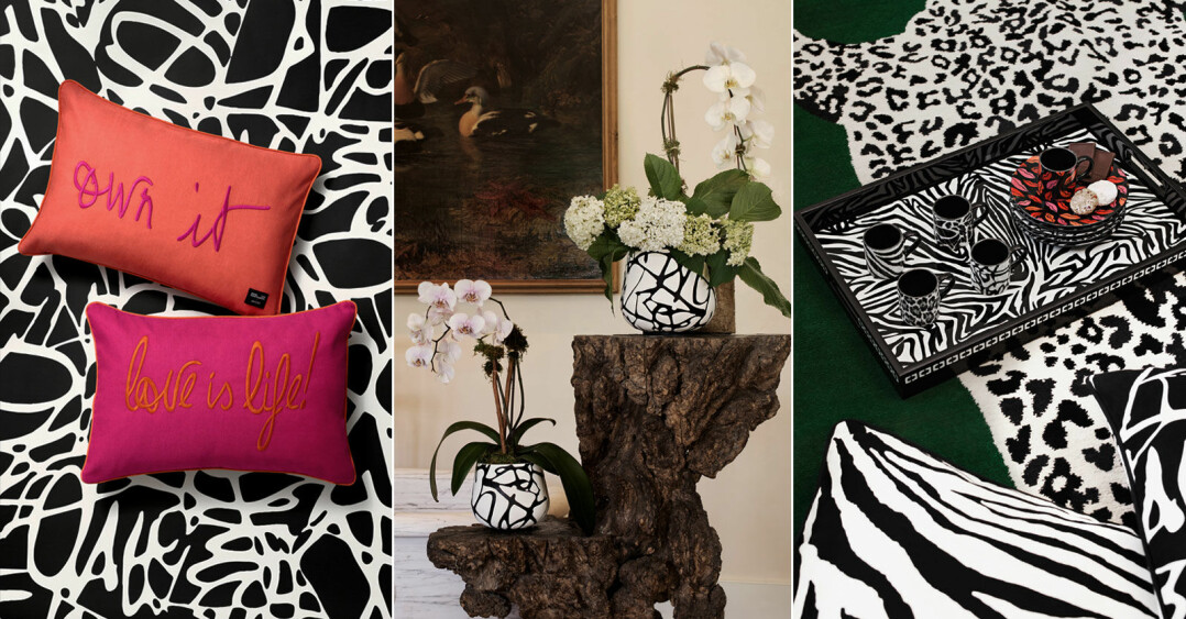 Diane von Furstenberg x H&M Home, se bilder från kollektionen här som släpps i april 2021