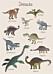 Barntavla med dinosaurier
