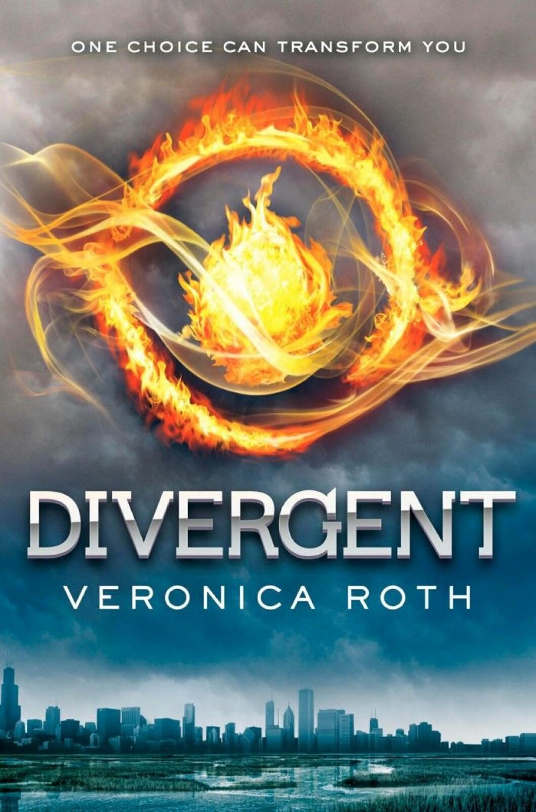 Divergent av Veronica Roth (Modernista)