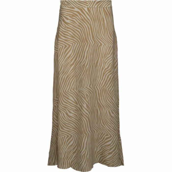 djurmönstrad kjol
