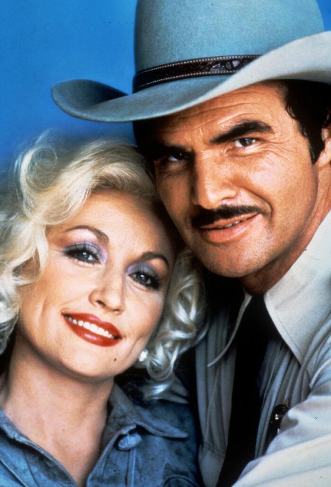 Dolly Parton och Burt Reynolds