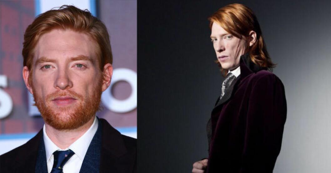 Domhnall Gleeson i Harry Potter