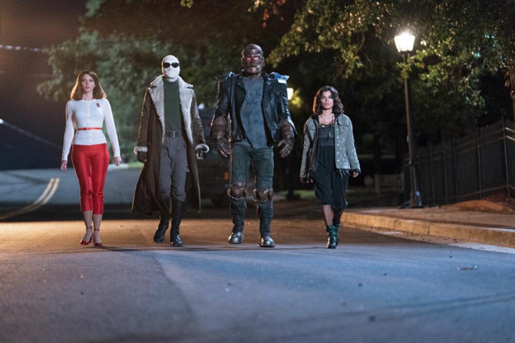 En bild från tv-serien Doom Patrol på HBO som har premiär den 29 maj.