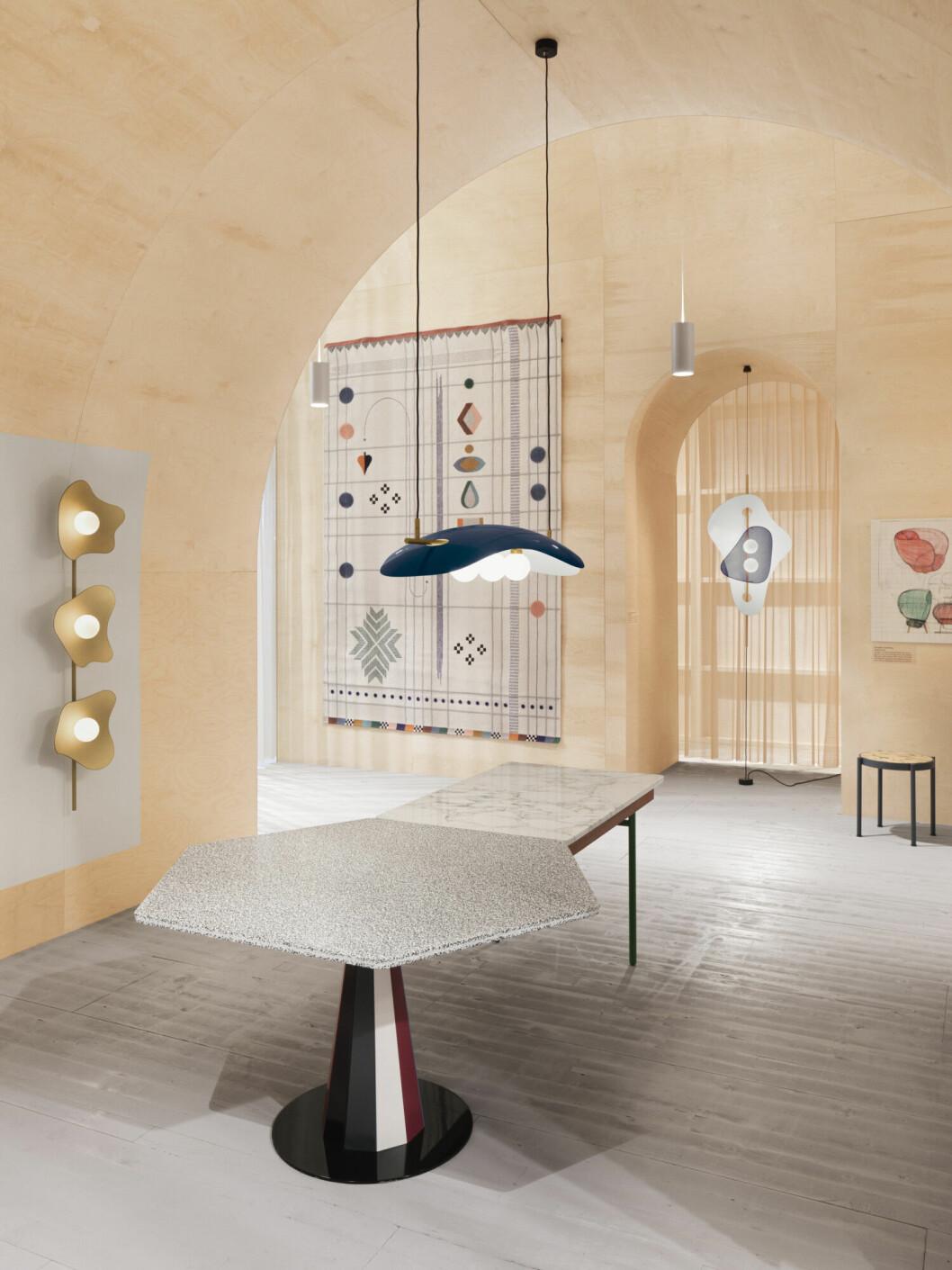Från Doshi Leviens utställning på Möbelmässan 2020