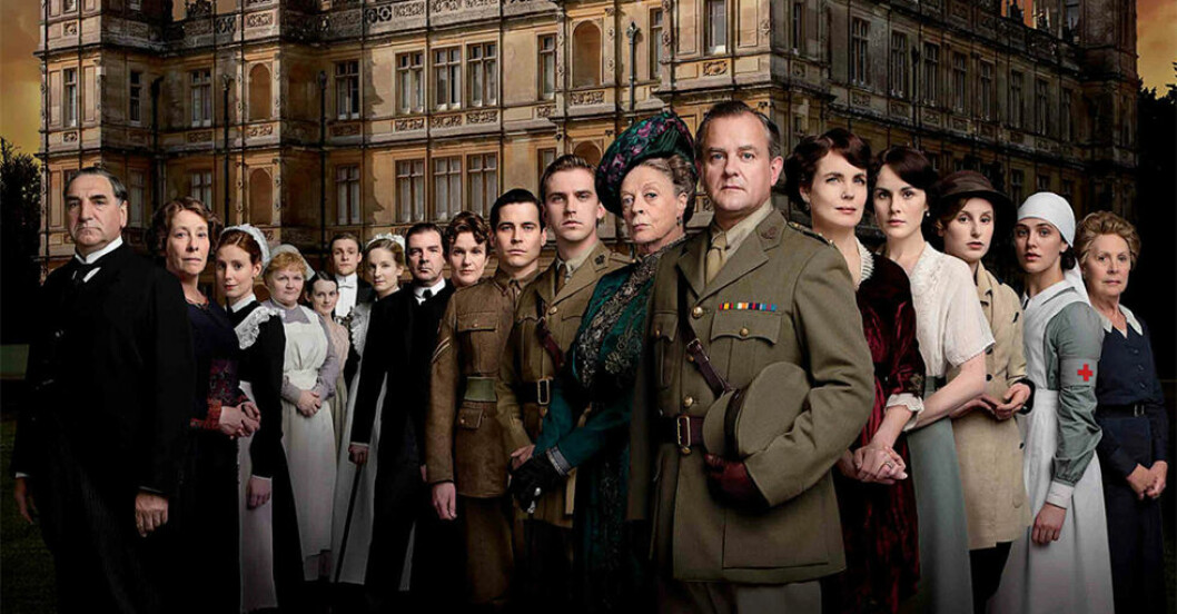 Downton Abbey blir film.