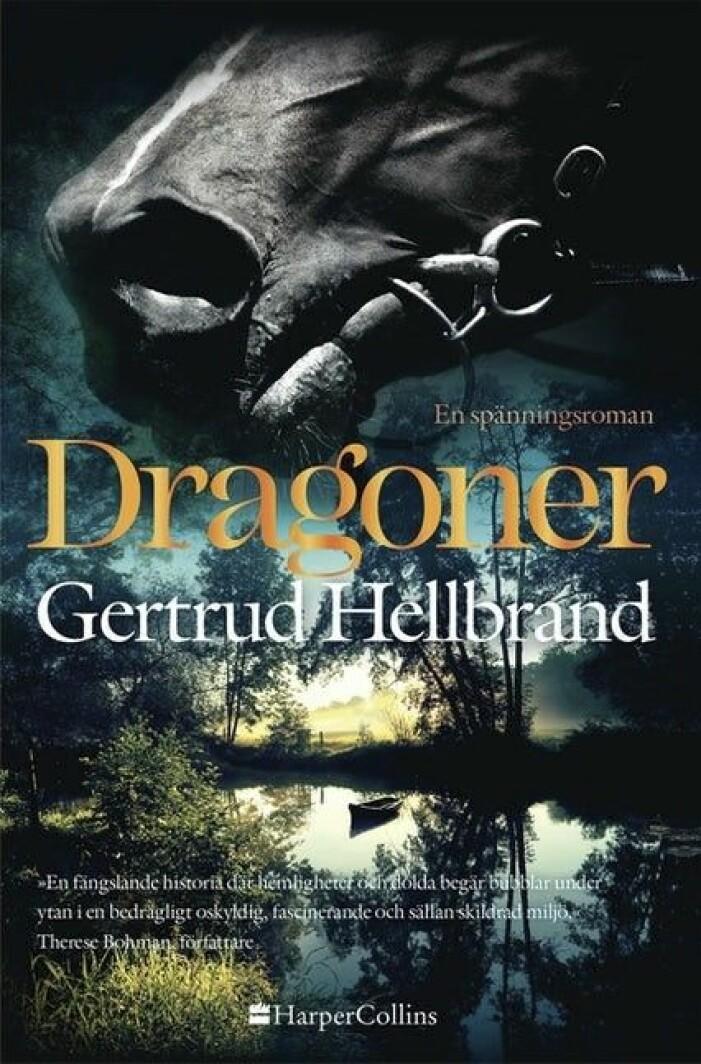 Boken Dragoner av Gertrud Hellbrand.