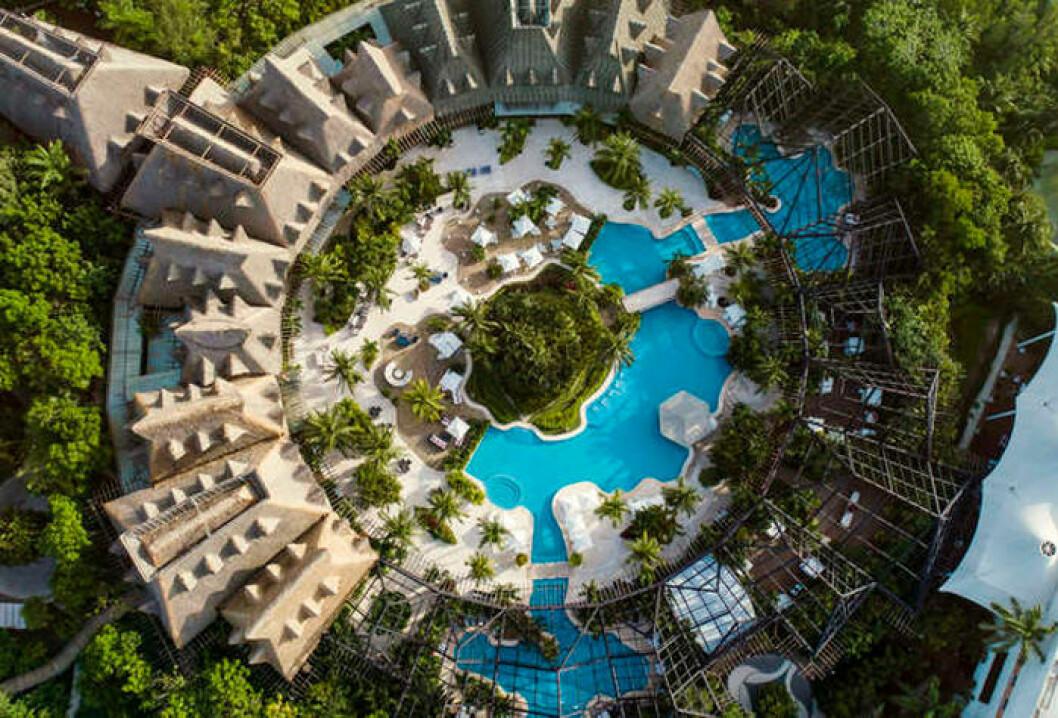 Drömjobbet är ledigt, på resort i Mexico
