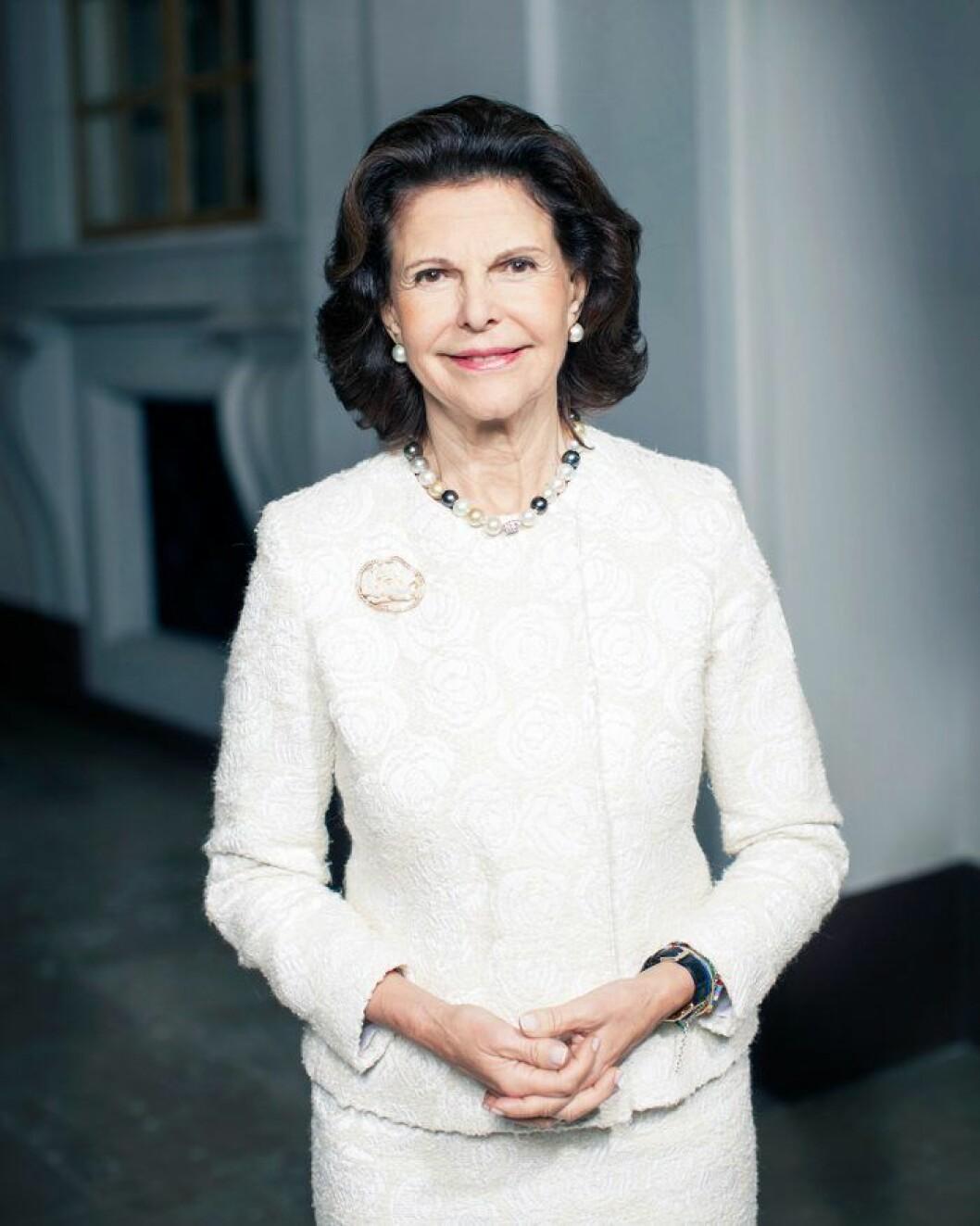 Den 23 december fyller drottning Silvia 76 år.
