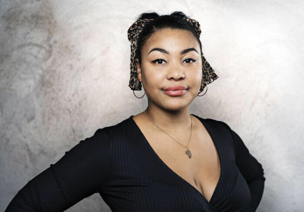 Frilansjournalisten Fanna Ndow Norrby är goodwillambassadör för organisationen Kvinna till Kvinna.