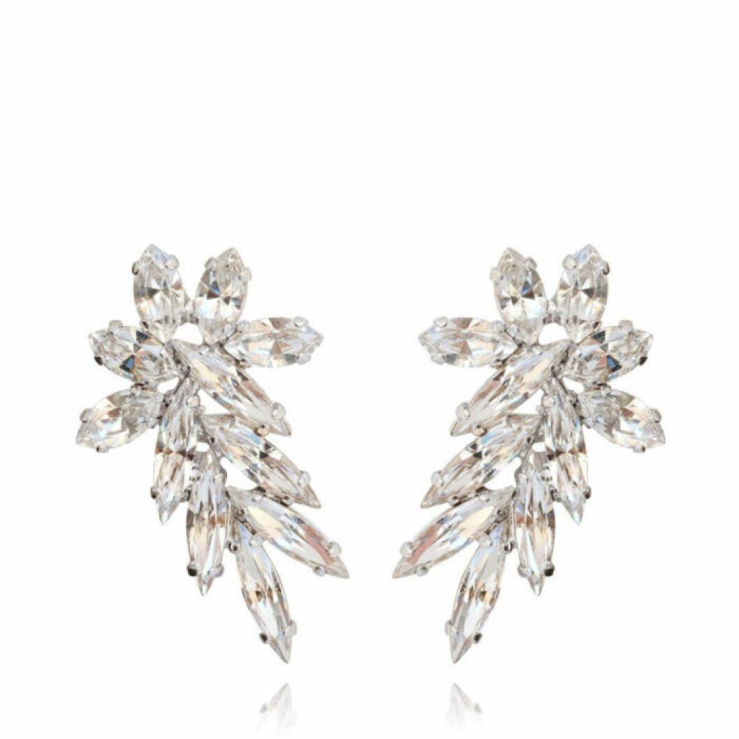 Ear cuff örhängen med kristaller