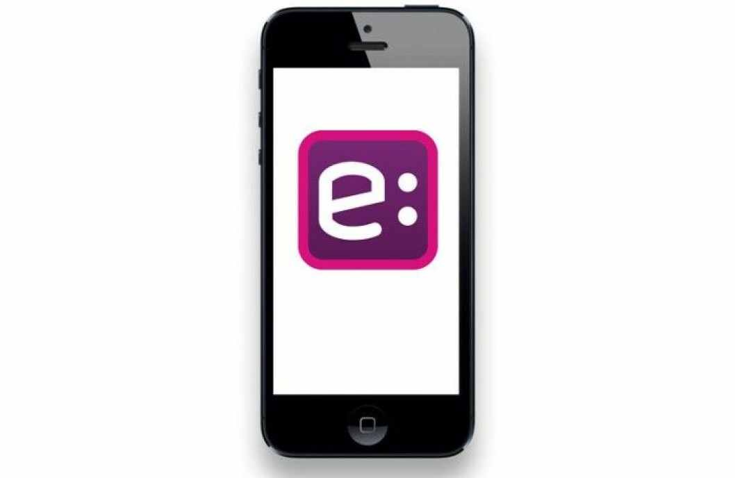 iPhone med Easy Park app
