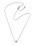 Halsband i silver med tunn kedja och med en liten, oval, slät berlock. Halsband från Efva Attling.