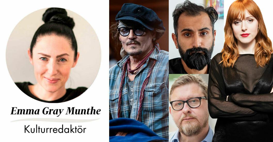 Feminas kulturredaktör Emma Gray Munthe om cirkusen inom cancelkulturen