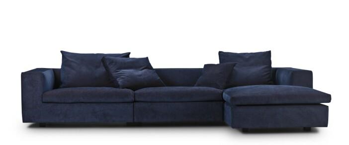 Eilersen soffa sammet lounge